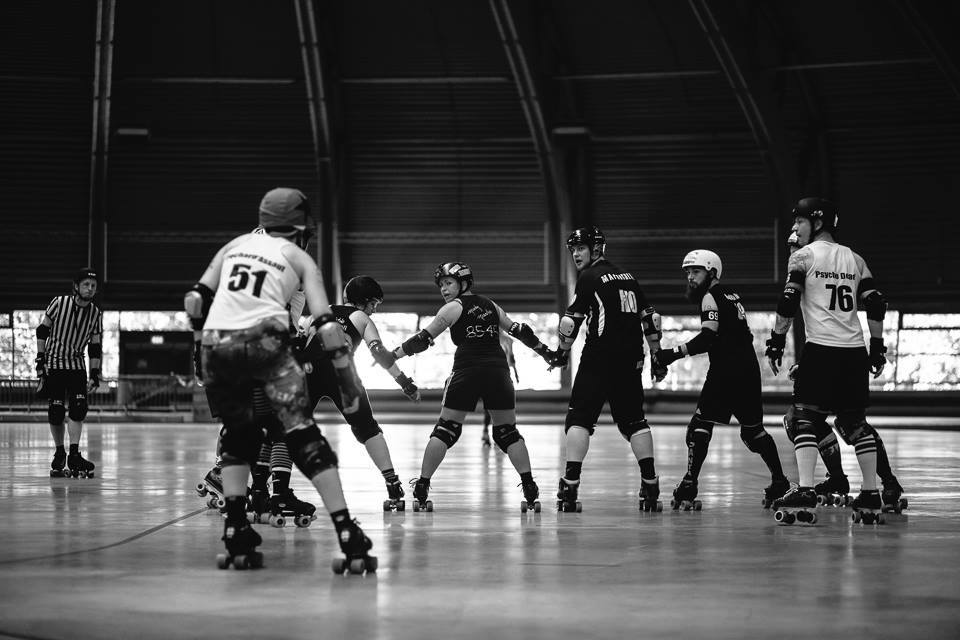 Roller Derby in Erfurt