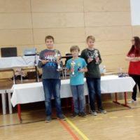 Leon und Elias räumten beim Kinderschnellschachturnier 2017 in Neuruppin ab