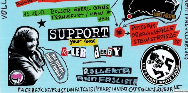 Homebout 3 Prussian Fat Cats Vs Roller Grrrl Gang