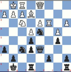Weiß spielt Dd2 und verliert. Warum?